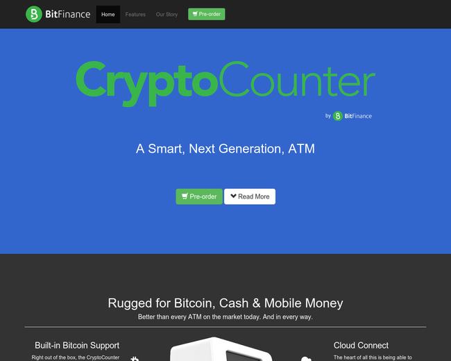 Crypto Counter