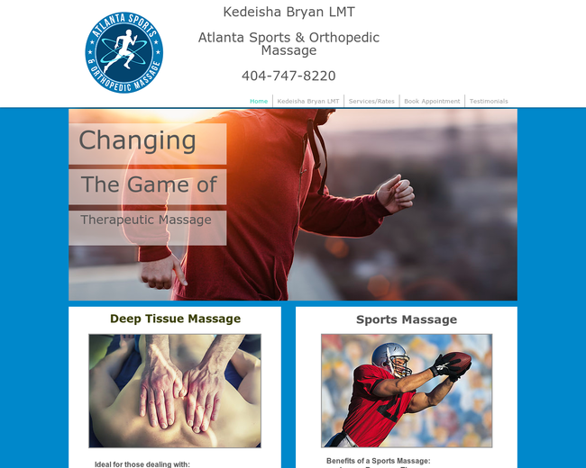 Atlanta Deep Tissue & Sports Massage