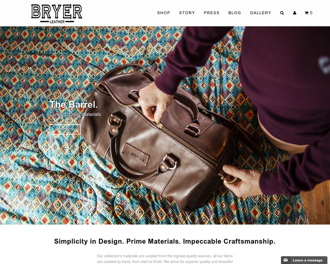 Bryer Leather