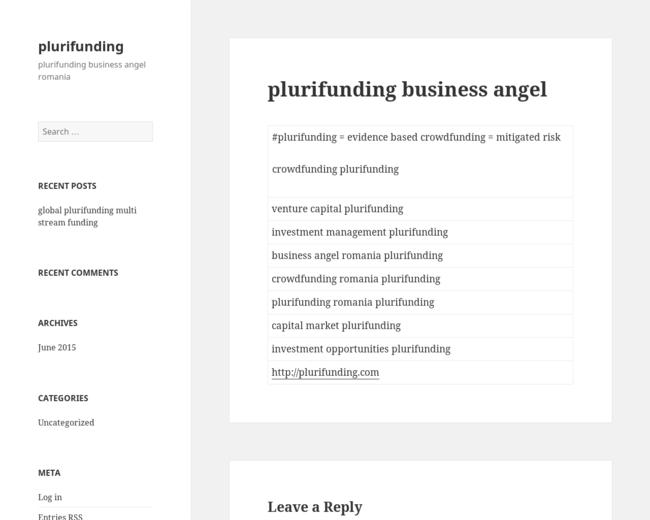 plurifunding