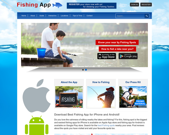 Amateur Anglers - Guide for Fishing app
