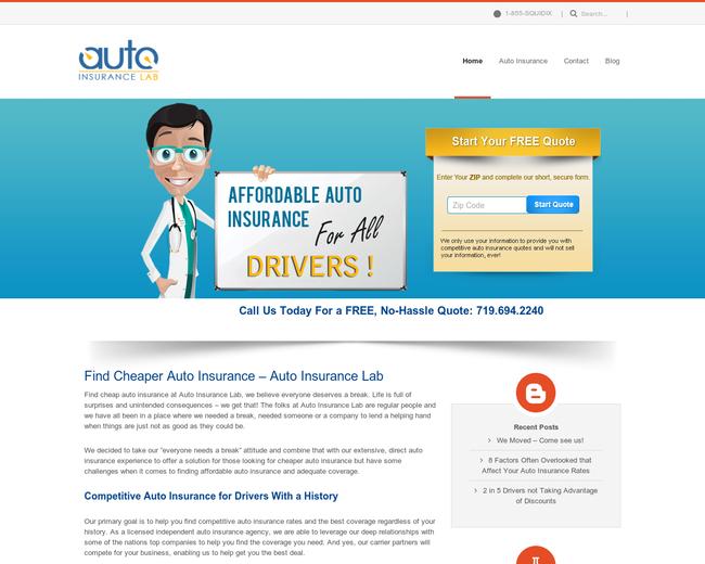 Auto Insurance Lab