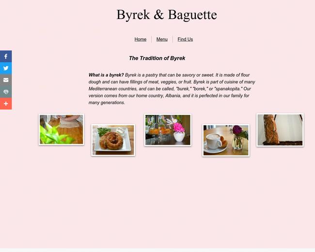 Byrek & Baguette