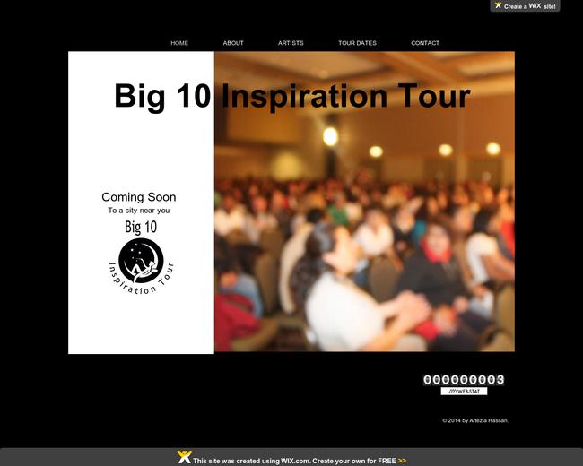 Big 10 Inspiration Tour