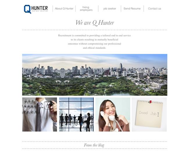 Q Hunter Recruitment