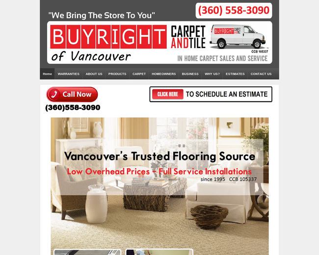 Buyright Carpet in Home of Vancouver