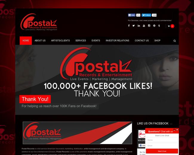 Postal Records & Entertainment