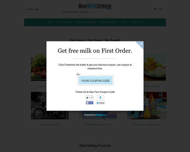 BuyMilkOnline