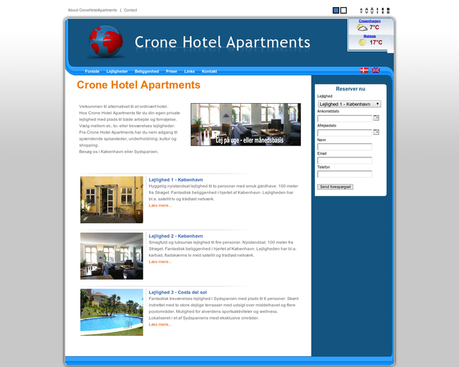 Crone Hotel Apartments