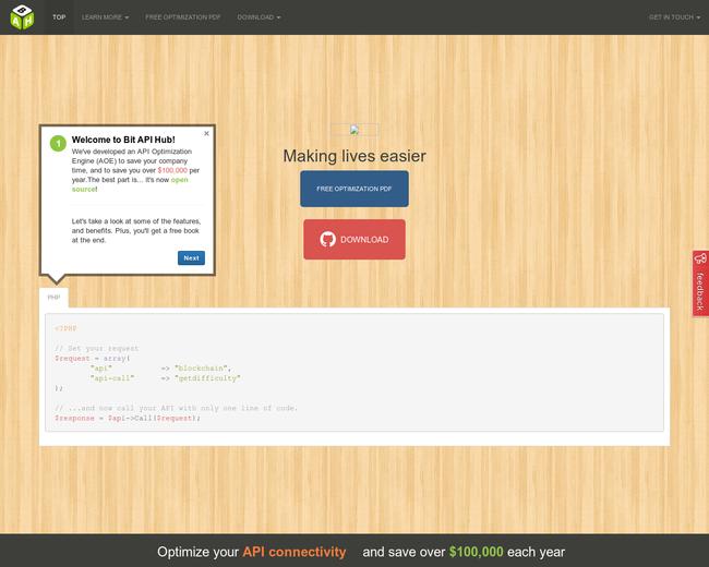 Bit API Hub