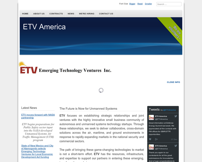 Emerging Technology Ventures