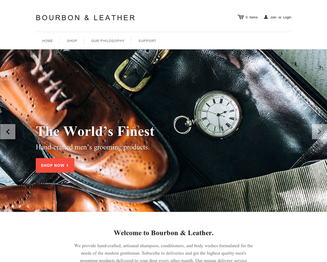 Bourbon & Leather