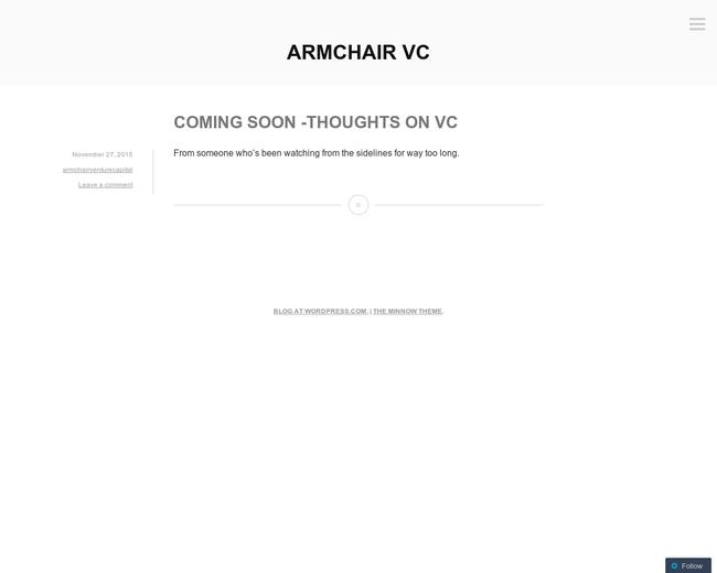 Armchair Ventures