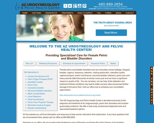 AZ Urogynecology & Pelvic Health Center