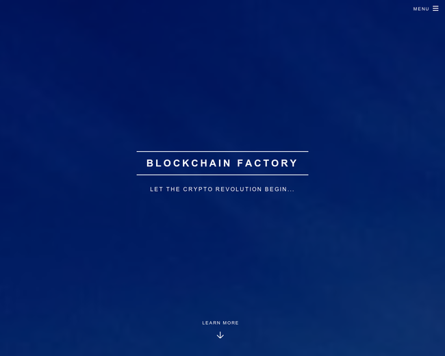 Blockchain Factory