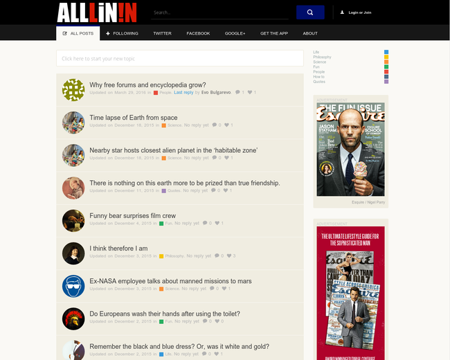 ALLLiN!N Magazine
