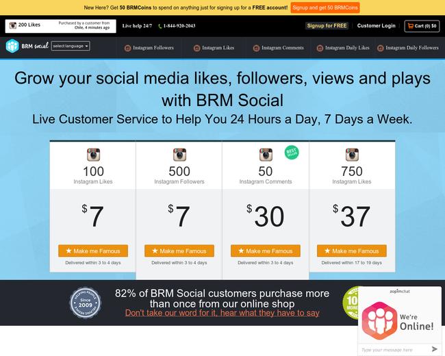 BRM Social