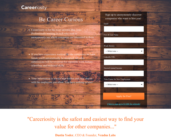 Careeriosity