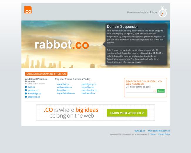 Rabbot Holdings