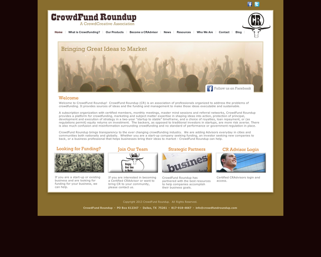 Crowdfund Roundup
