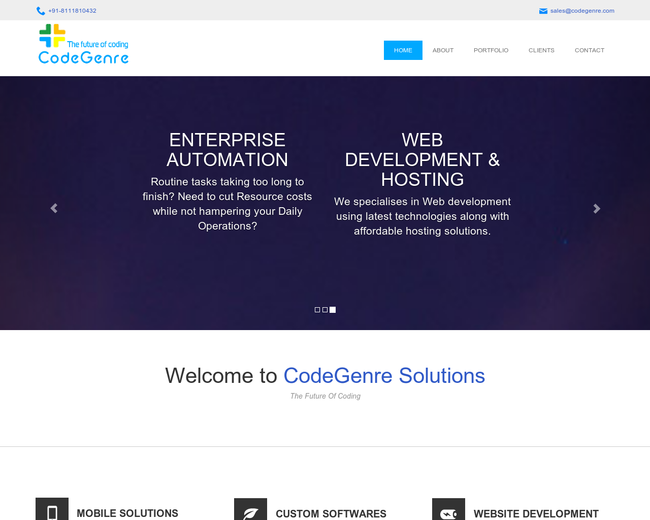 CodeGenre Solutions