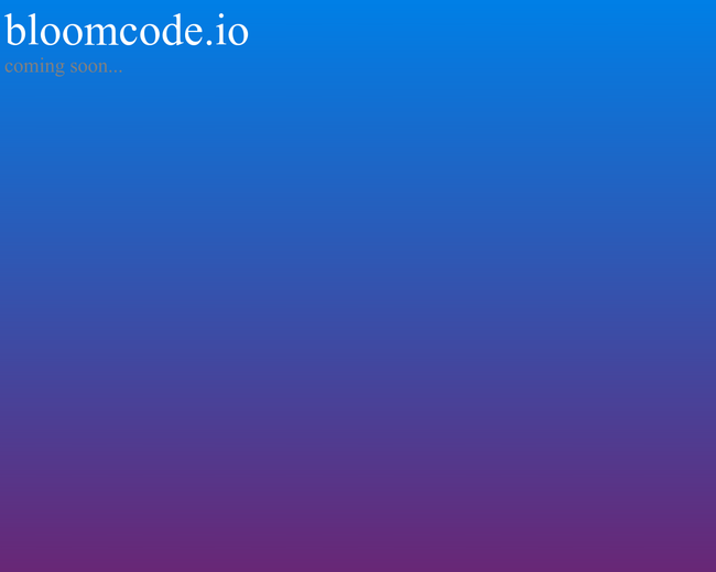 bloomcode
