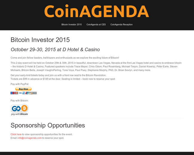 CoinAgenda