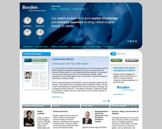 Boyden global executive search