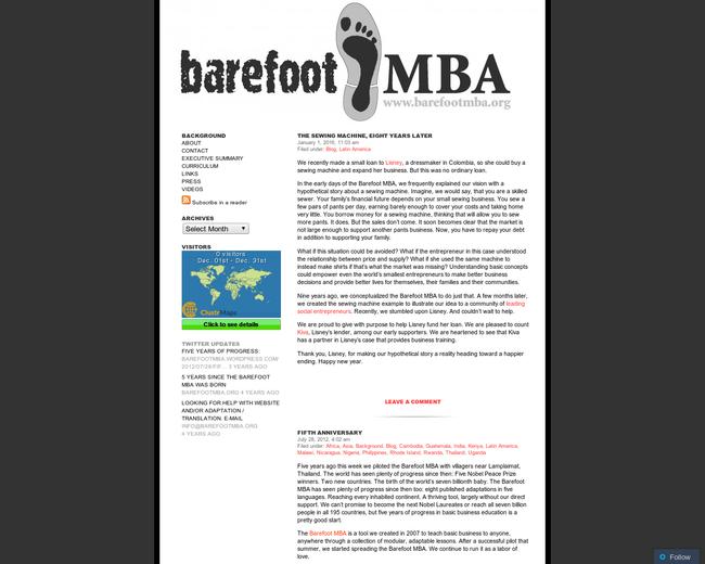 Barefoot MBA