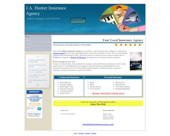 J.A. Hunter Insurance Agency