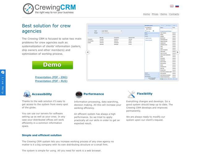 CrewingCRM
