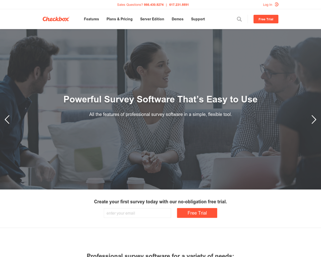 Checkbox Survey Solutions