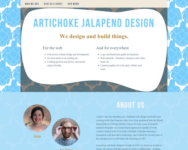 Artichoke Jalapeno Design