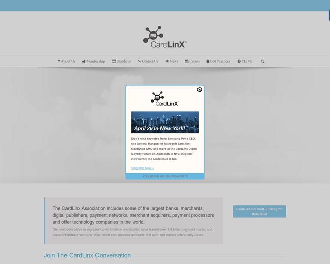 CardLinX Association