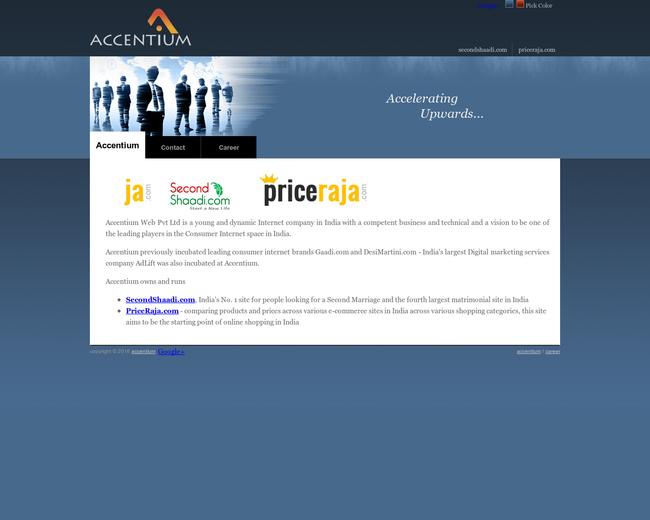 Accentium Web