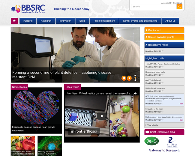 Biotechnology and Biological Sciences Research Council (BBSRC)