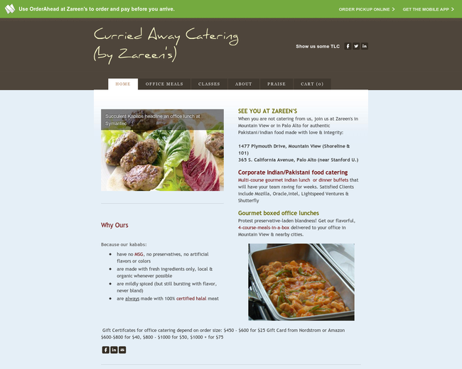 Curried Away Catering