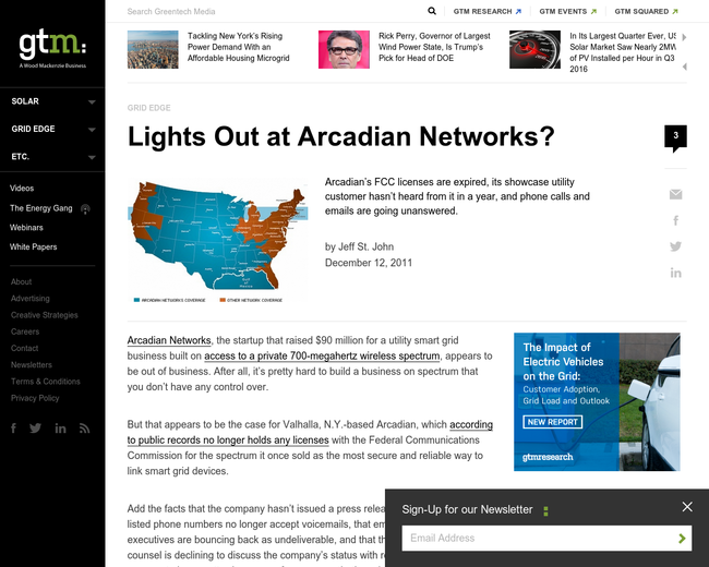 Arcadian Networks