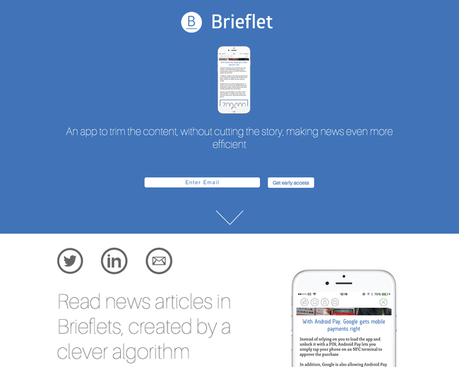 Brieflet