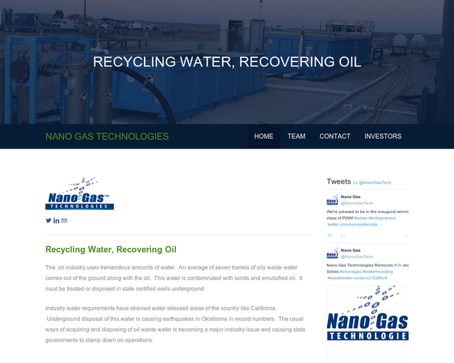 Nano Gas Technologies