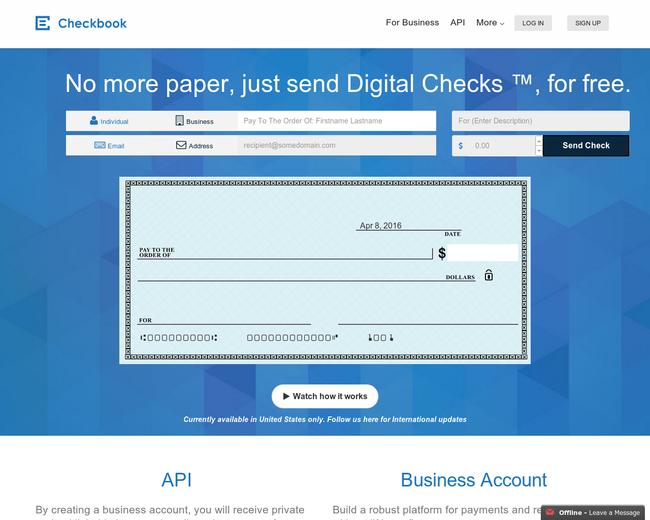 Checkbook.io