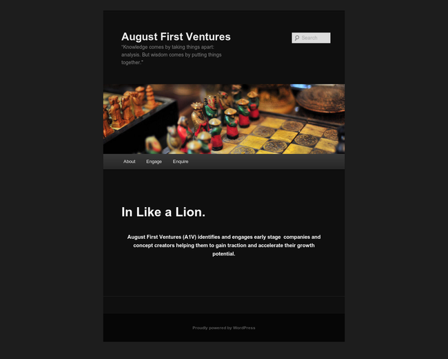 August First Ventures