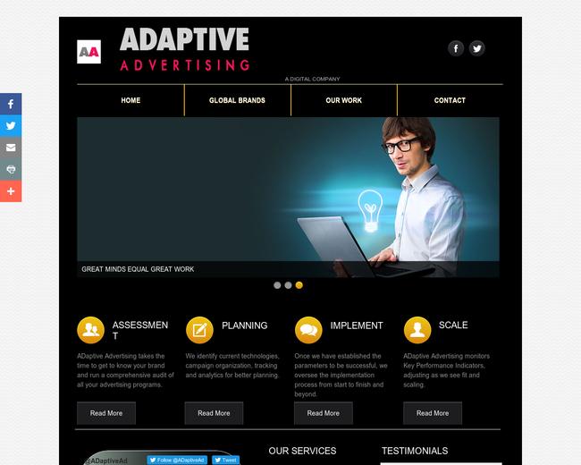 Adaptive Advertising