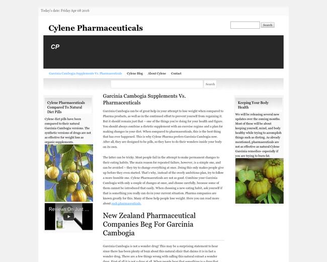 Cylene Pharmaceuticals