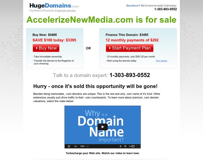Accelerize New Media