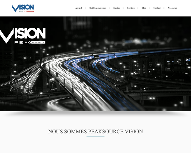 Peaksource Vision