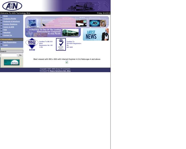 AKN Technology Bhd