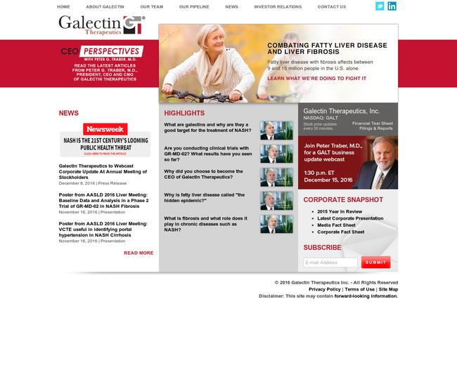 Galectin Therapeutics