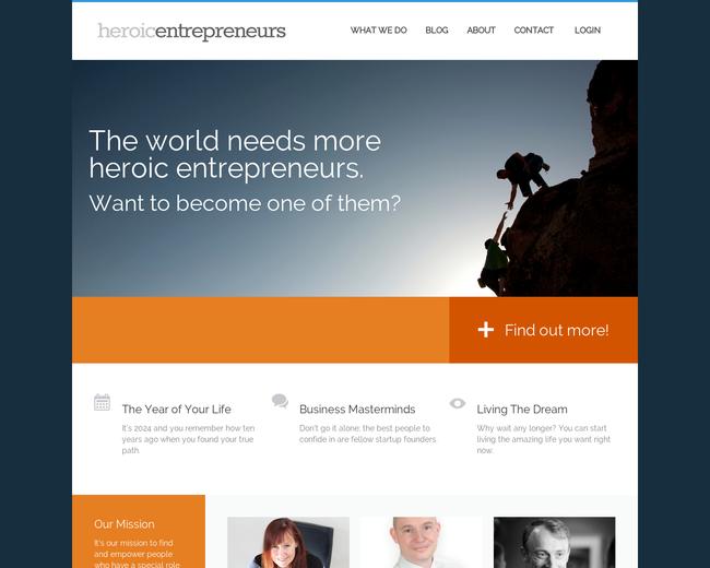 Heroic Entrepreneurs