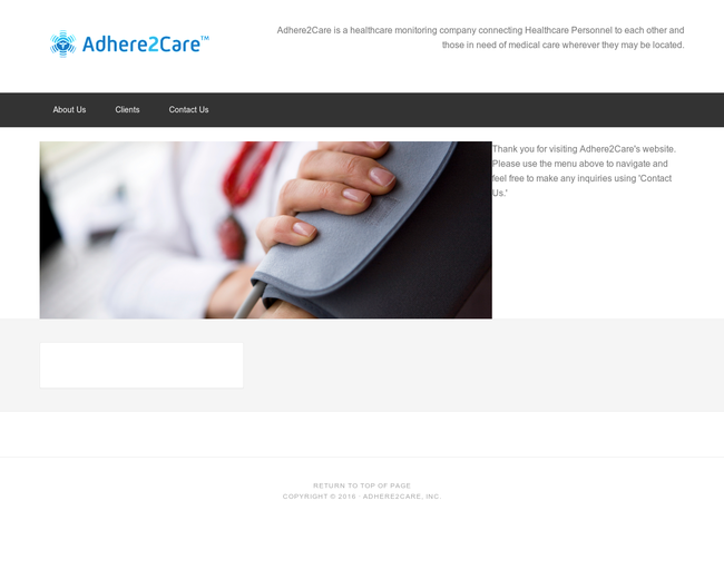 Adhere2Care